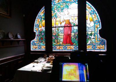 CMAG-Glass:Assessment of the Art Nouveau glass windows from the Casa-Museu Dr. Anastácio Gonçalves (Portugal)