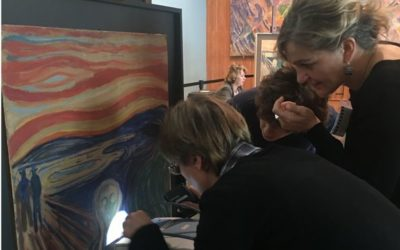 New MOLAB investigations shed light on The Scream in the Munch Museum in Oslo